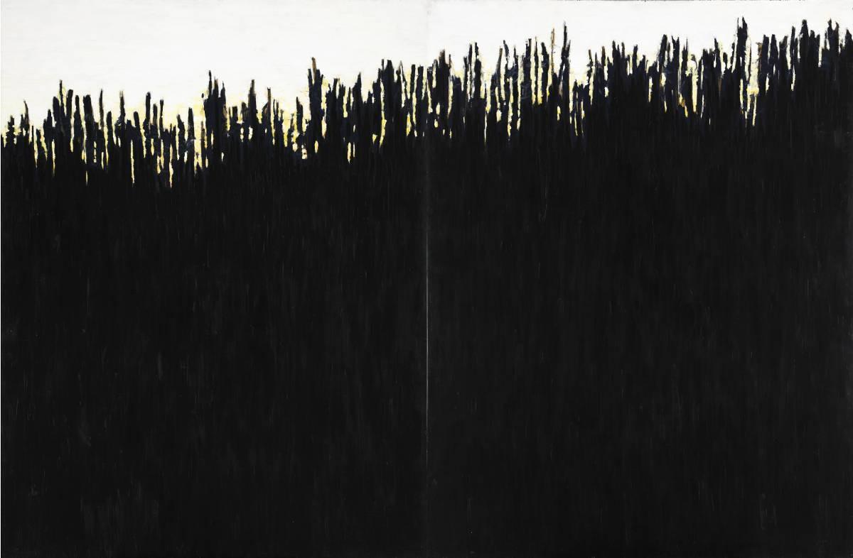 Czarne wzgórze (dyptyk)