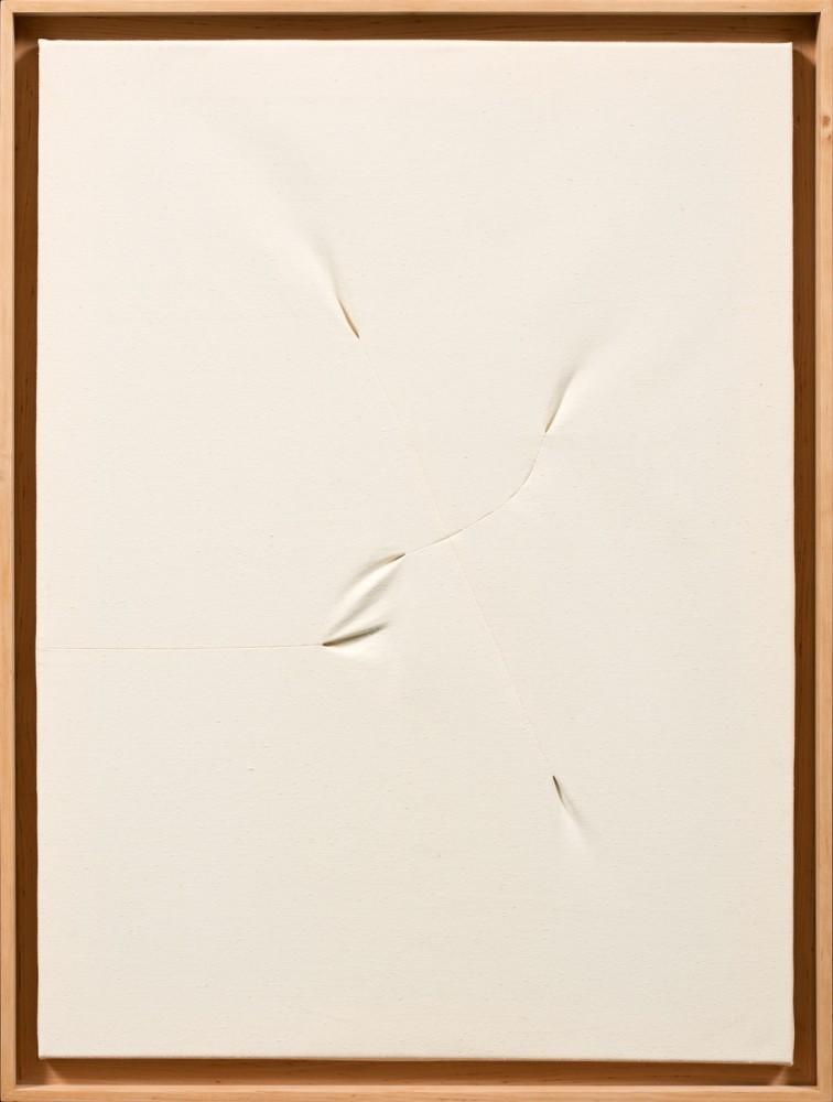 Obraz biały z cyklu Interwencje